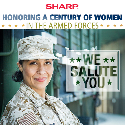 Honoring a Century of Women in the Armed Forces